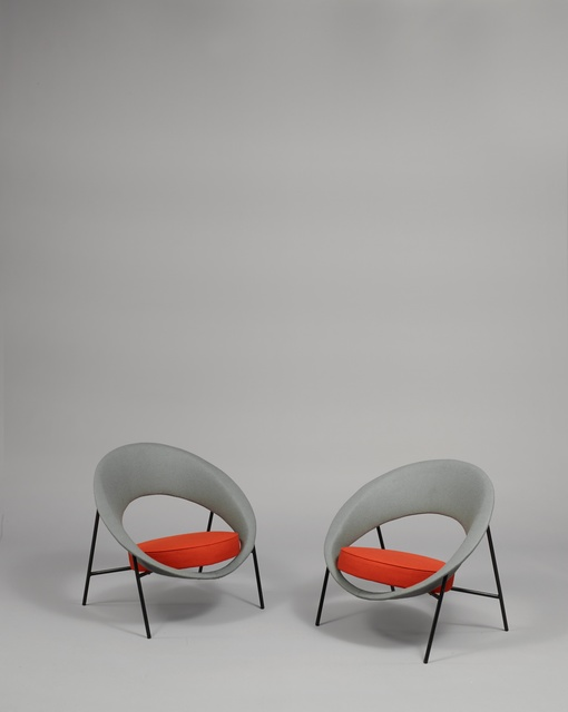 , 'Pair of armchairs 44 - Saturne,' 1957, Galerie Pascal Cuisinier