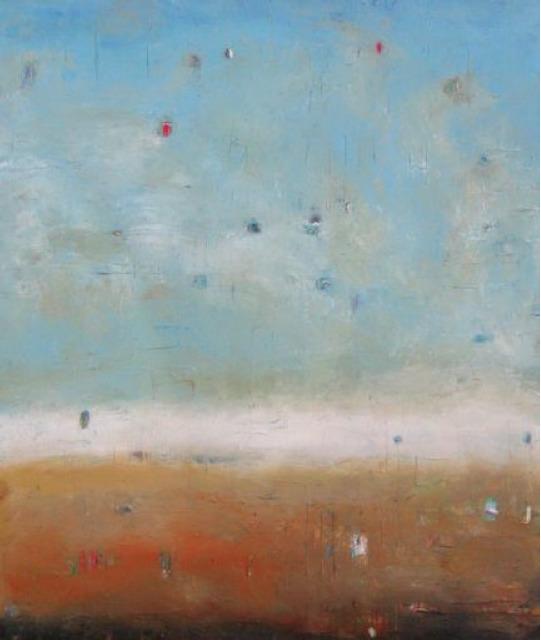 , 'Walking on a Bluff,' 2013, Walter Wickiser Gallery