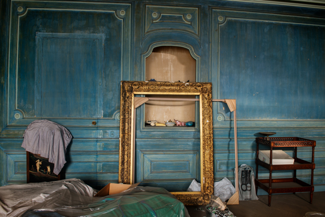 , 'The golden frame,' 2014, Blanca Berlín