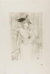 Mademoiselle Marcelle Lender, debout (Wittrock 101; Adhémar 134)
