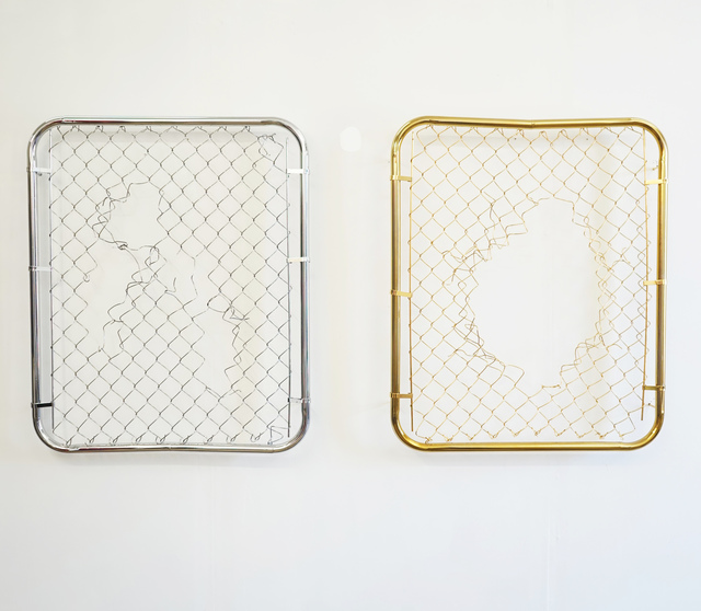 , 'Broken Grid I & II,' 2015, Alfa Gallery