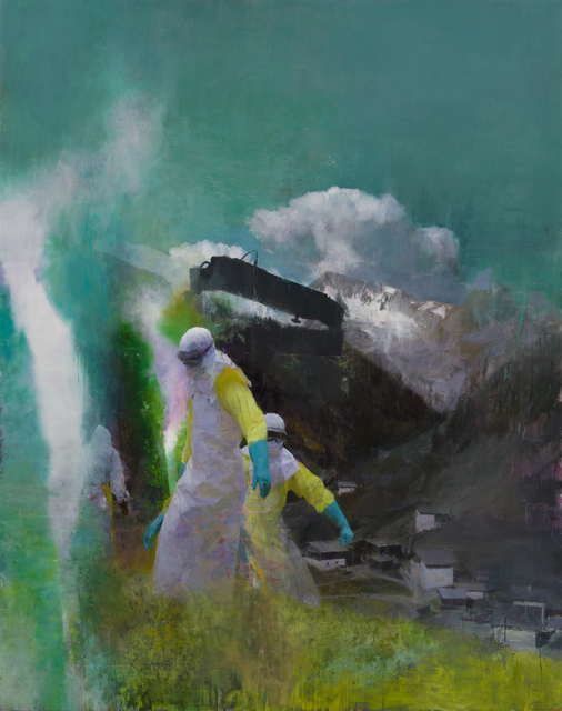 , 'Der Besucher,' 2014, Parafin