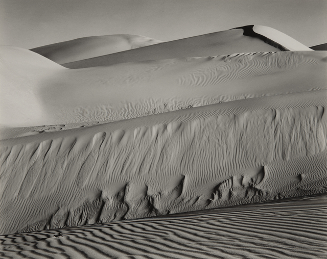 Edward Weston, 'Dunes, Oceano', 1936-printed in the late 1940s or early 1950s, Phillips