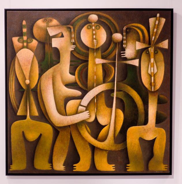, 'Woman with two rainbow,' , Rimonim Art Gallery