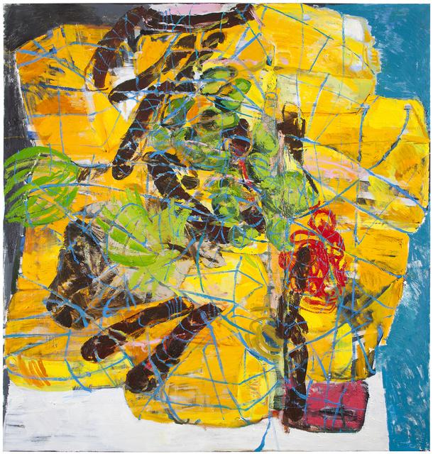 Anna Retulainen, 'Lasti (Nigerialaista salakuljetettua bensaa, ruokaa ja valkoinen auto)', 2014, Helsinki Contemporary