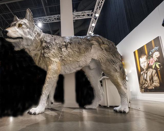 , 'Mahihkan (wolf),' 2017, Winchester Galleries