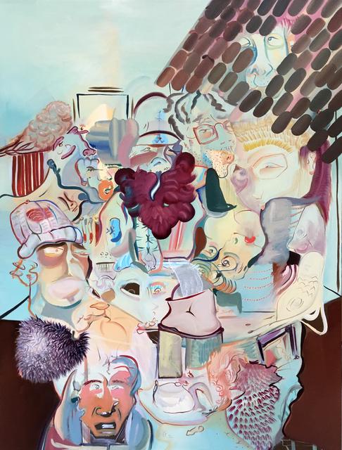 , 'Faces,' 2017, Zhou B Haus der Kunst