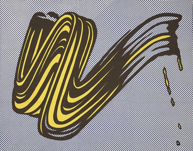 Roy Lichtenstein, 'Brushstroke', 1965, Rago