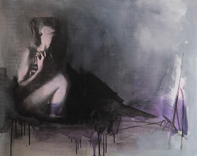Virginie Bocaert, 'Désirs trouvés', 2014, Painting, Mixed media on board, Thompson Landry Gallery