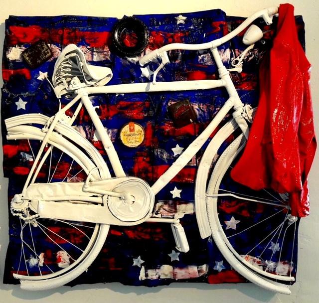 , 'Bike I love Usa,' 2017, Galleria Ca' d'Oro