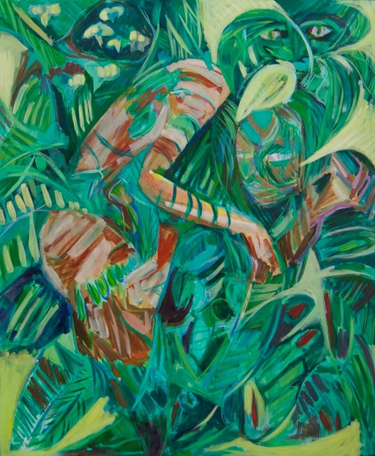 , 'Figures in Foliage,' , Arusha Gallery
