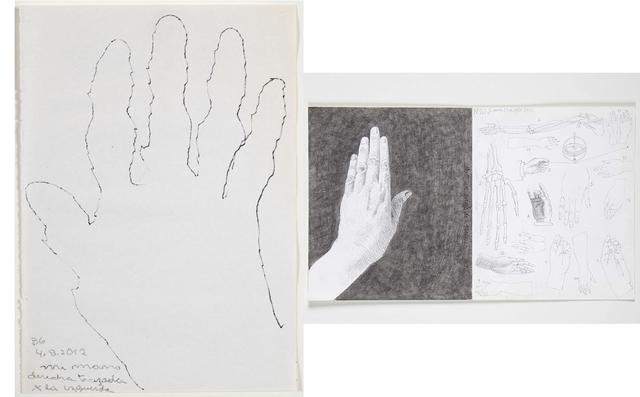 , 'Mano(s),' 2012, Casas Riegner