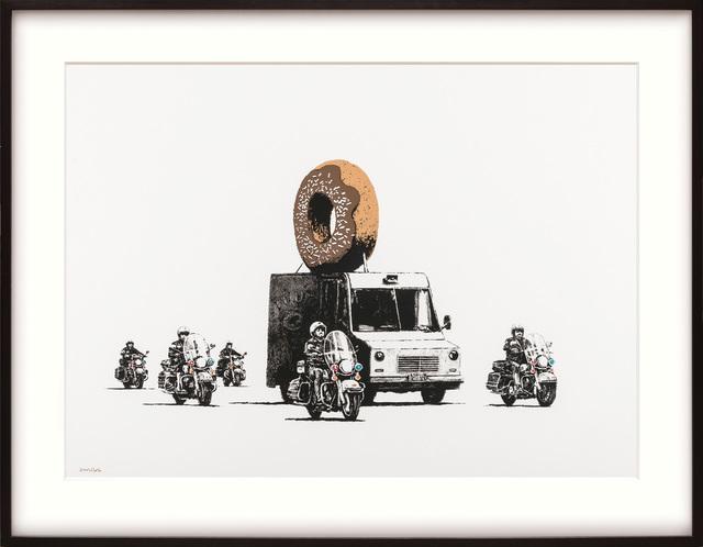 Banksy, 'Chocolate Donut.', 2009, Peter Harrington Gallery