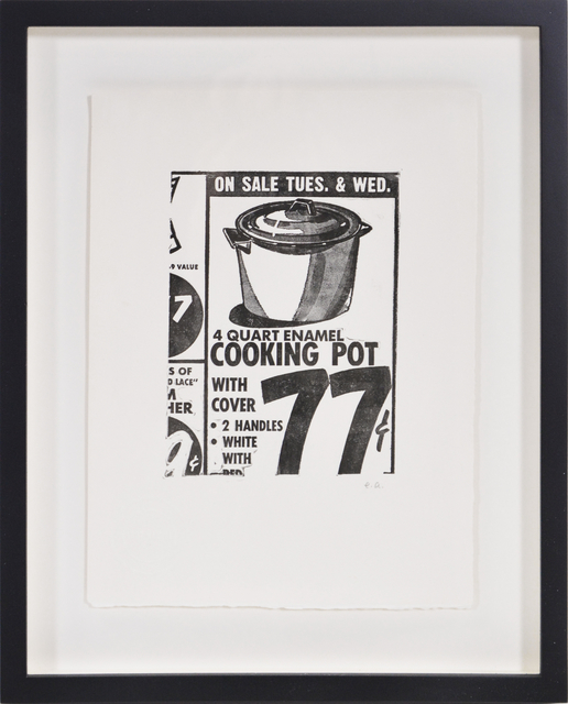 Andy Warhol, 'Cooking Pot', 1963, Print, Etching on paper, Shapero Modern