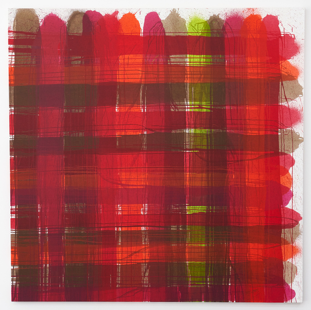 , 'PLAID#13,' 2015, Deborah Schamoni