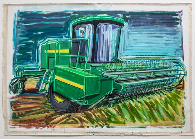 , 'John Deere Swather,' 2013, Rosamund Felsen Gallery