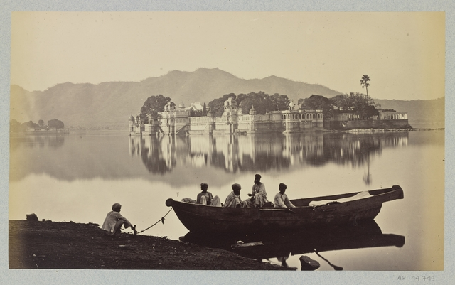 , 'Rajasthan, le Jag Nivas,' 1863-1870, Musée national des arts asiatiques - Guimet