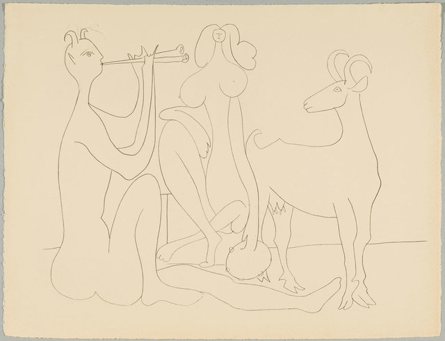 Pablo Picasso, 'Mes dessins d'Antibes 1946', 1958, Koller Auctions