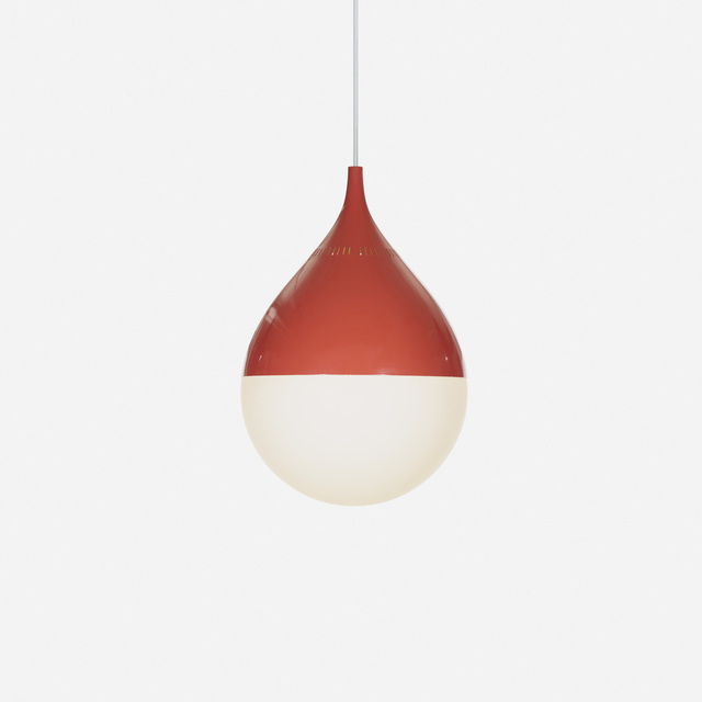 Stilnovo, 'hanging lamp', c. 1955, Wright