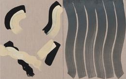 , 'Untitled (Three Tone Strokes),' 2013, Roberts & Tilton