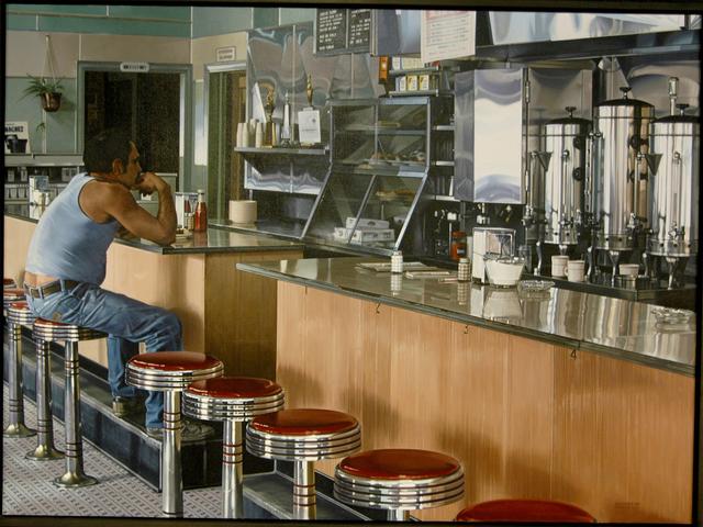 , 'Amsterdam Diner,' 1980, Louis K. Meisel Gallery