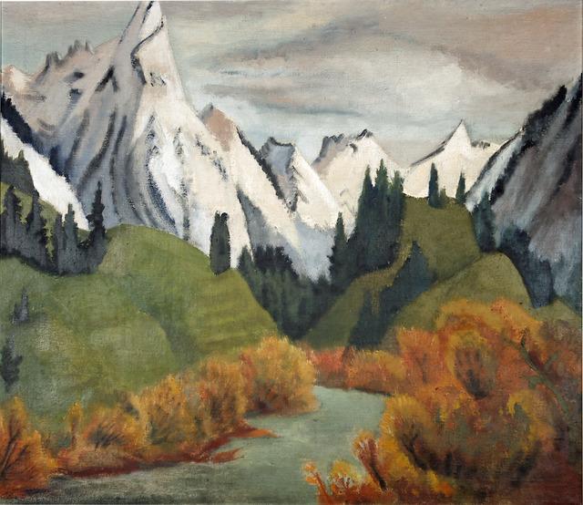 , 'Fluss im Gebirge,' 1923, Henze + Ketterer