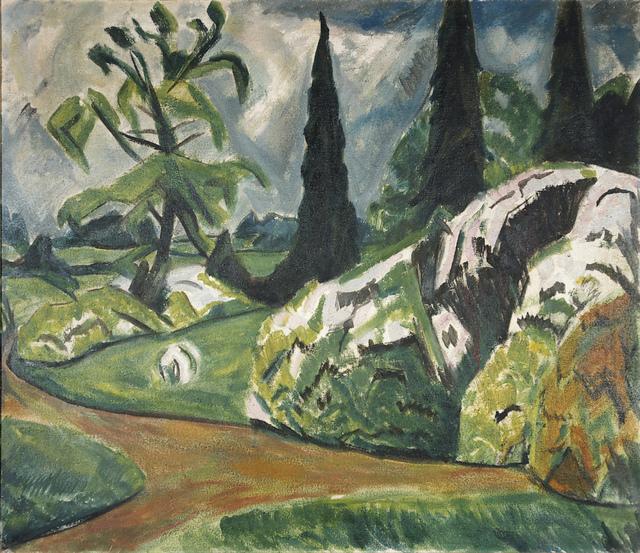 , 'Park von Dilborn II ,' 1914, Henze & Ketterer