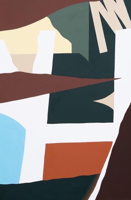 , 'H,' 2019, Ground Effect Gallery