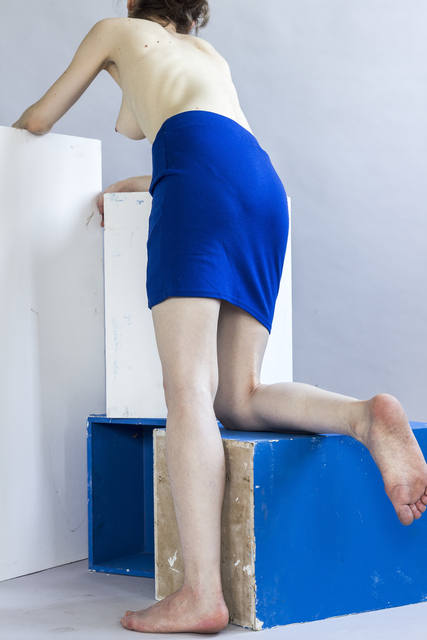 , 'Blue skirt,' 2015, Raster