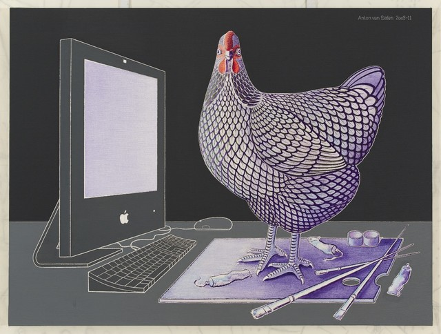 , 'iMac, Wyandotte Chicken and Palette,' 2009-2011, P.P.O.W