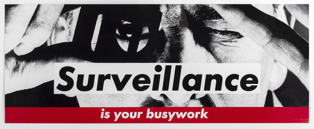 Untitled (Surveillance is your busywork)