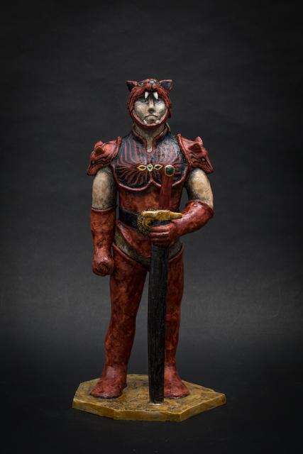 , '1. Red Werewolf,' 2017, Sladmore Contemporary