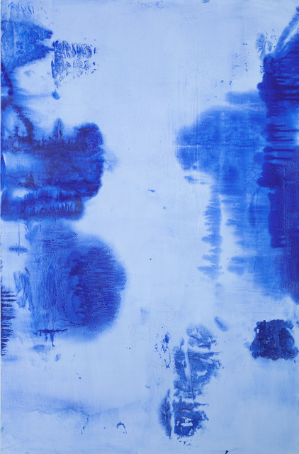 , 'Untitled Blue 1,' 2017, High Noon Gallery