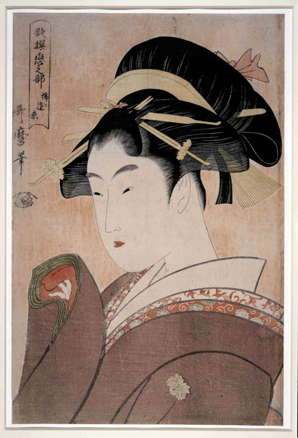 , 'Mare ni au koi 稀ニ逢恋  (Love that Rarely Meets),' ca. 1793-1794, British Museum