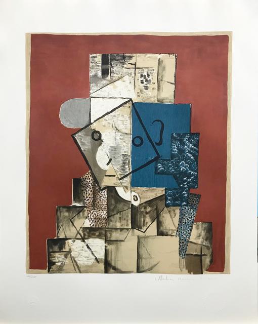 Pablo Picasso, 'VISAGE SUR FOND ROUGE', 1979-1982, Gallery Art