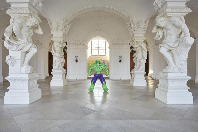 , 'Hulk (Friends), Installation view at the Belvedere, Vienna,' 2014, Belvedere Museum