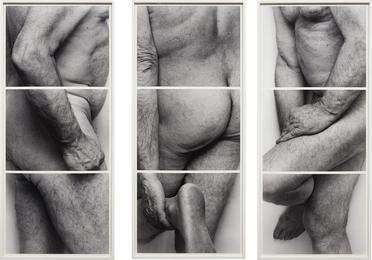 John Coplans, 'Self-Portrait, Frieze, No. 4, 3 Panels,' 1994, Phillips: Photographs (April 2017)
