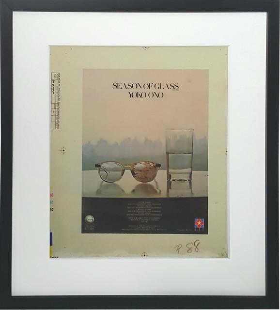 Yoko Ono, ''Season of Glass' Billboard Ad Paste-Up', 1981, Print, Screenprint in colours on 4 sheets of mylar, artrepublic