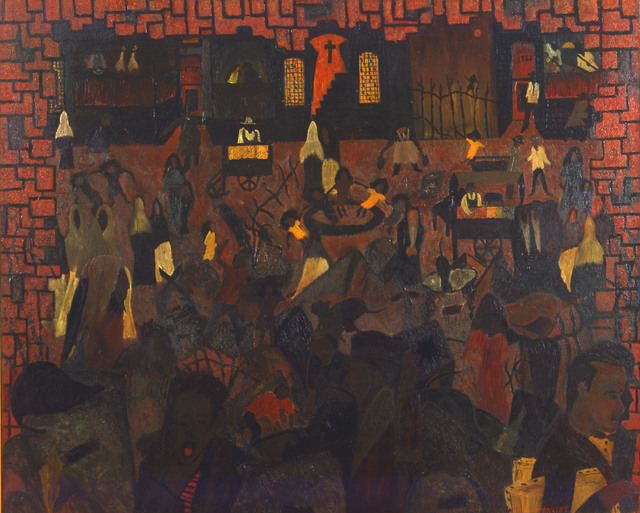 Vincent Smith, 'Saturday Night in Harlem', 1955, Alexandre Gallery