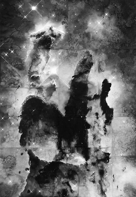 , 'Pillars of Creation (From the Series Dark Matter),' 2017, PRISKA PASQUER