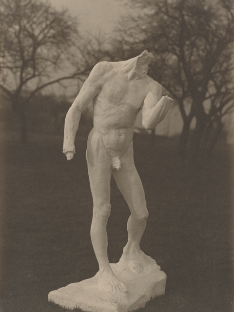 , 'Étude pour Pierre de Wissant (Study for Pierre de Wissant),' c. 1903-1904, Musée Rodin