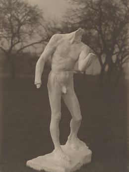 Stephen Haweis y Henry Coles, 'Étude vierten Pierre de Wissant (Estudio para Pierre de Wissant),' c.  1903-1904, Museo Rodin