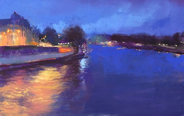 , 'Evening on the Seine,' , Copley Society of Art