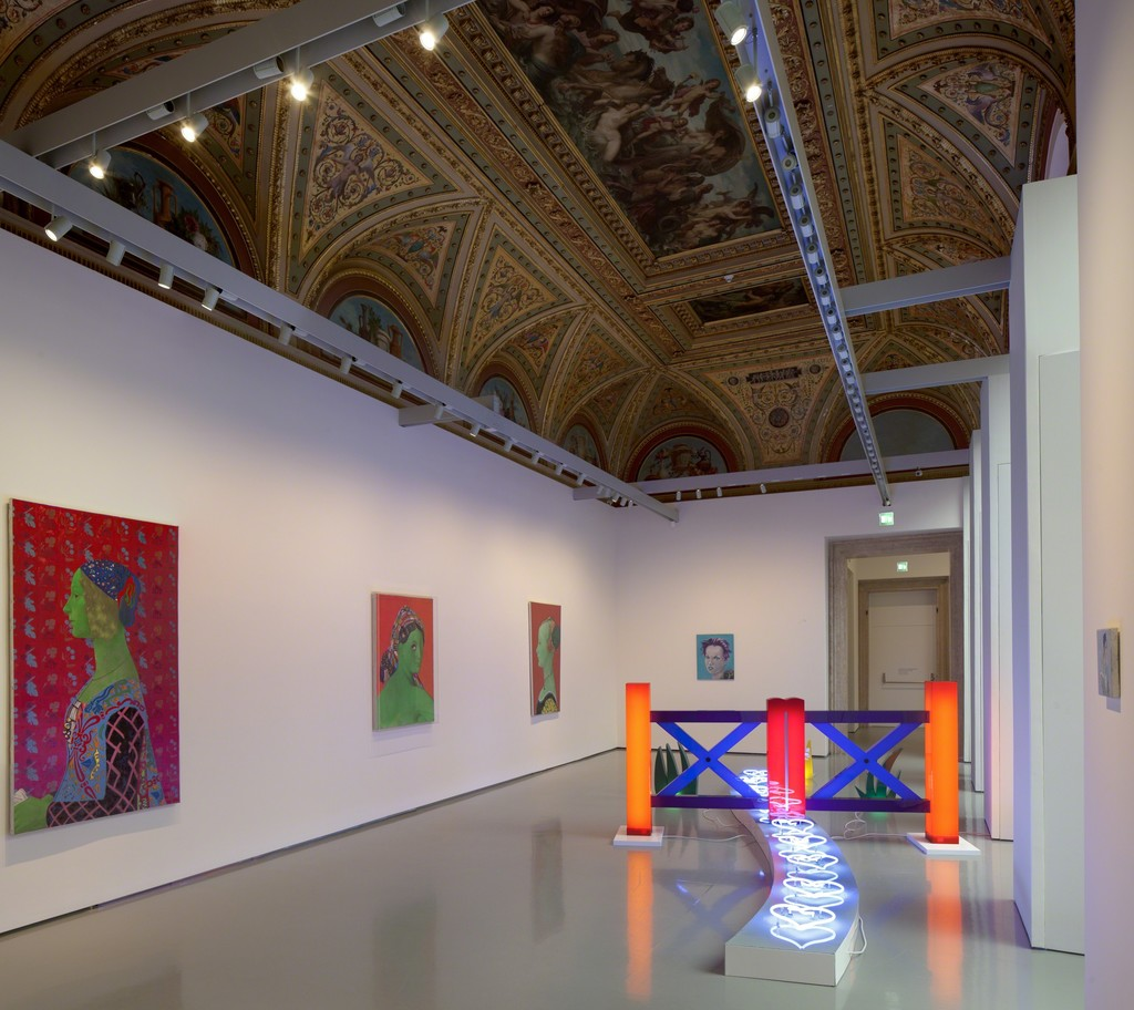 Martial Raysse Installation view at Palazzo Grassi 2015 Ph : © Fulvio Orsenigo © Martial Raysse by SIAE 2015