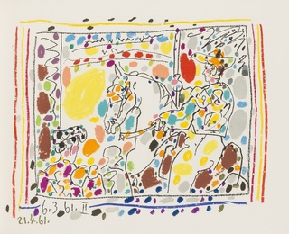 Pablo Picasso, 'Jaime Sabarté's, A Los Toros (Mourlot 350),' 1961, Forum Auctions: Editions and Works on Paper (March 2017)