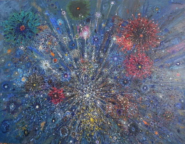 , 'Celebration with Fireworks,' 2018, Galerie d'Orsay