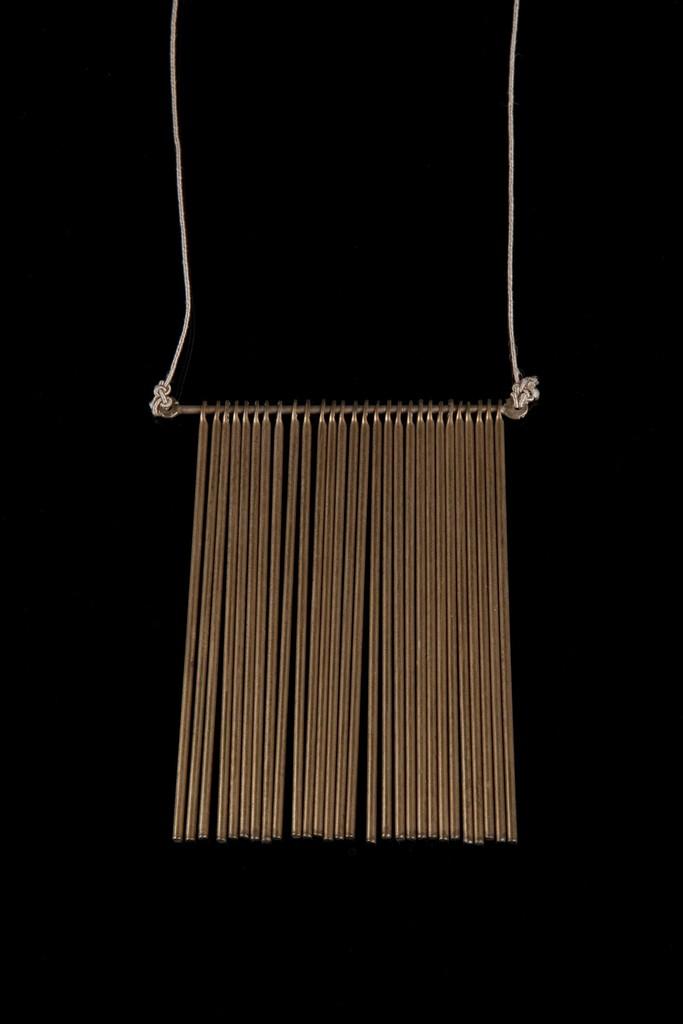 Harry Bertoia, 'Unique fringe pendant with 28 rods,' ca. 1970s, Didier Ltd.