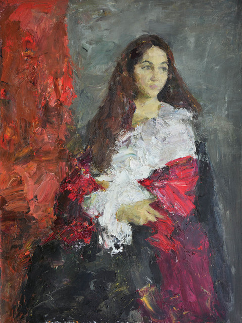 , 'Portrait of a Woman,' 2012, Paul Scott Gallery & galleryrussia.com