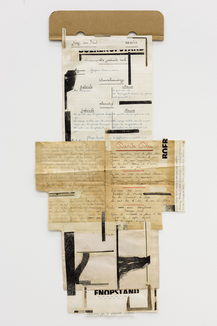 "Carla Filipe, '""Comer papel mastigado - o desejo de compreender o velho continente para cuspir a sua história / Eating chewed paper - the desire to understand the old continent to spit its story"" Untitled 49', 2014, Múrias Centeno"