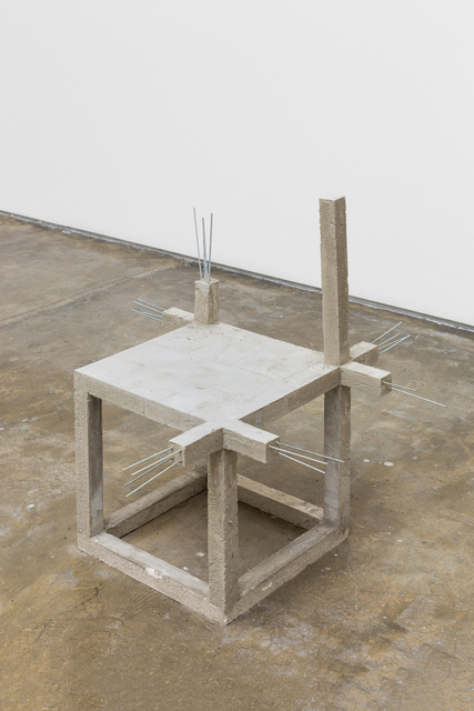 , 'Unfinished concrete chair #6,' 2015, Baginski, Galeria/Projectos
